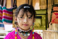 Karen girl. Stock Images