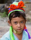 Karen girl. Royalty Free Stock Photography
