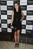 Karen Hassan. Arrives for the Malmaison Hotel Liverpool re-opening party.. 23/09/2011  Picture by Steve Vas/Featureflash Royalty Free Stock Image