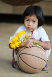 Karen Hill Tribe Girl Stock Image