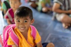 Karen-Kinder von Banbongtilang-Schule stockfotos