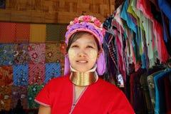 Karen Long Neck Stock Photo