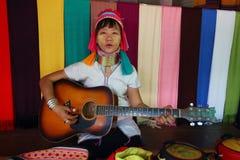 Karen Long Neck stock photography