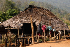 Karen Minority Village Royalty Free Stock Photo