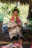 Karen Tribeswoman, Tailandia Fotografía de archivo libre de regalías