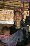 Karen Tribeswoman, Tailandia Fotos de archivo