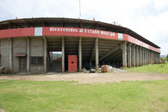 Karen Tucker stadium Corn Island Nicaragua Stock Photography