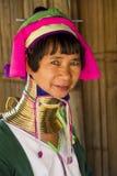Karen Woman en Chiang Rai, Thaïlande Photo stock