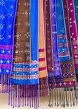 Karen woven in Thailand Royalty Free Stock Photos