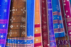 Karen woven in Thailand Royalty Free Stock Images