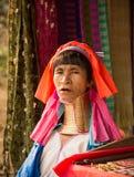 Karen wzgórza plemienia ludzie w Tajlandia Zdjęcie Royalty Free