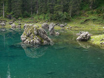 Karer lake, The Dolomites, Italy Stock Image