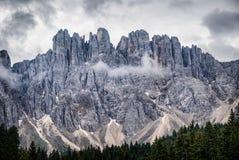 Karerlake στην Ιταλία Στοκ Εικόνα