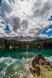 Karersee jezioro zdjęcie royalty free
