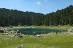 Karersee (lake of Carezza) Stock Photography