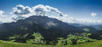 Karersee village, Dolomiti - Trentino Alto Adige Stock Images