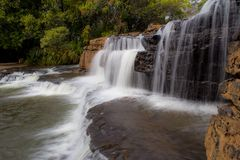 Karfiguela vattenfall, Burkina Faso Royaltyfri Foto