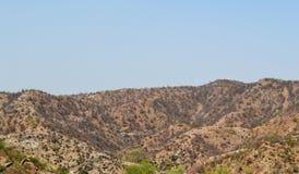 Karga berg av aravaliområde royaltyfri bild