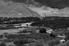 Kargil Ladakh - Indien arkivfoto