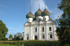 kargopol antico della chiesa Fotografie Stock