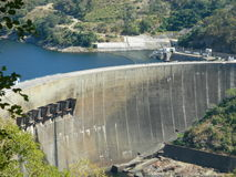 Kariba dam Royalty Free Stock Photos