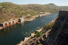 Kariba hydroelektrisch lizenzfreie stockfotografie