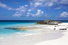 Karibikinsel-Küstenlinie Lizenzfreies Stockbild