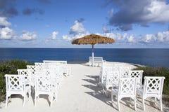 Karibikinsel-Stühle Lizenzfreies Stockfoto