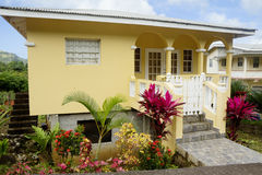 karibisch Die Architektur der Insel von Grenada stockfoto