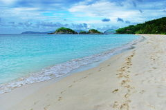 Karibische Ansicht, Johannes, US-Jungferninsel Lizenzfreies Stockfoto