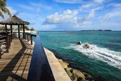Karibische Flucht lizenzfreie stockfotografie