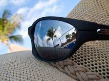 Karibische Gläser lizenzfreies stockbild