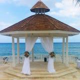 Karibische Hochzeit Lizenzfreies Stockbild