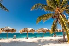 Karibische Insel-Paradies Stockfotografie