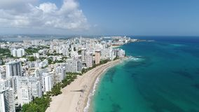 Karibische Kreuzfahrt Puerto Rico Island Carnival stock footage