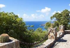 Karibische Landschaft Lizenzfreies Stockfoto