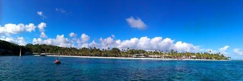 Karibische Meere, Französische Antillen, Guadeloupe-Insel Stockbild