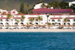 Karibische Rücksortierung Lizenzfreies Stockfoto
