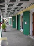 Karibische Straße lizenzfreies stockfoto