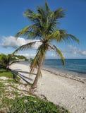 Karibische Strandlandschaft Lizenzfreie Stockfotos