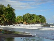 Karibische Strandlandschaft Stockfotografie