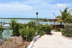 Karibischer Erholungsort-Jachthafen Lizenzfreie Stockbilder