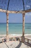 Karibischer Gazebo stockfoto