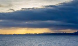 Karibischer Himmel Stockfoto