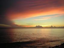 Karibischer Himmel lizenzfreies stockfoto
