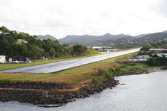 Karibischer Luft-Streifen Lizenzfreie Stockbilder