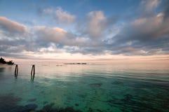 Karibischer Ozean lizenzfreies stockbild