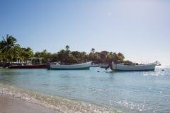 Karibischer Strand Akumal - Mexiko Maya-Riviera Stockfotos