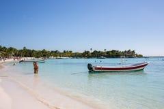 Karibischer Strand Akumal - Mexiko Maya-Riviera Stockbild