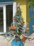 Karibischer Weihnachtsbaum Stockfotos